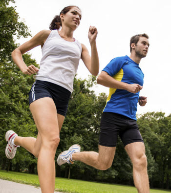 Couples Fitness Training - Couple Running